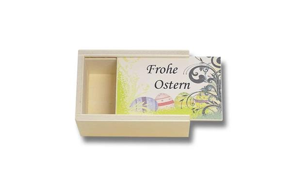 Holzbox | Frohe Ostern | leer